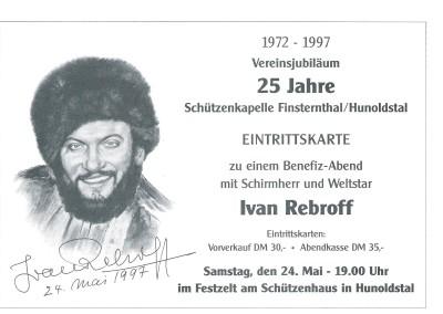 Fest Ivan Rebroff 1997 25 Jahre