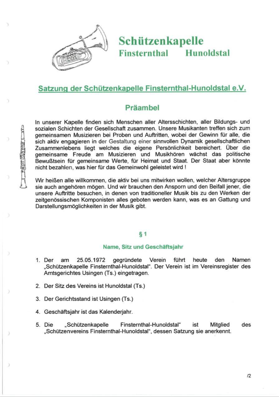 Satzung im PDF-Format ansehen oder downloaden
