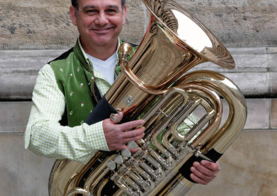 Jürgen Deusinger - Musikinstrument: Tuba - Schützenkapelle Finsternthal-Hunoldstal