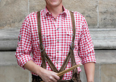 Heinz-Jörgen Will - Musikinstrument: Schlagzeug - Schützenkapelle Finsternthal-Hunoldstal