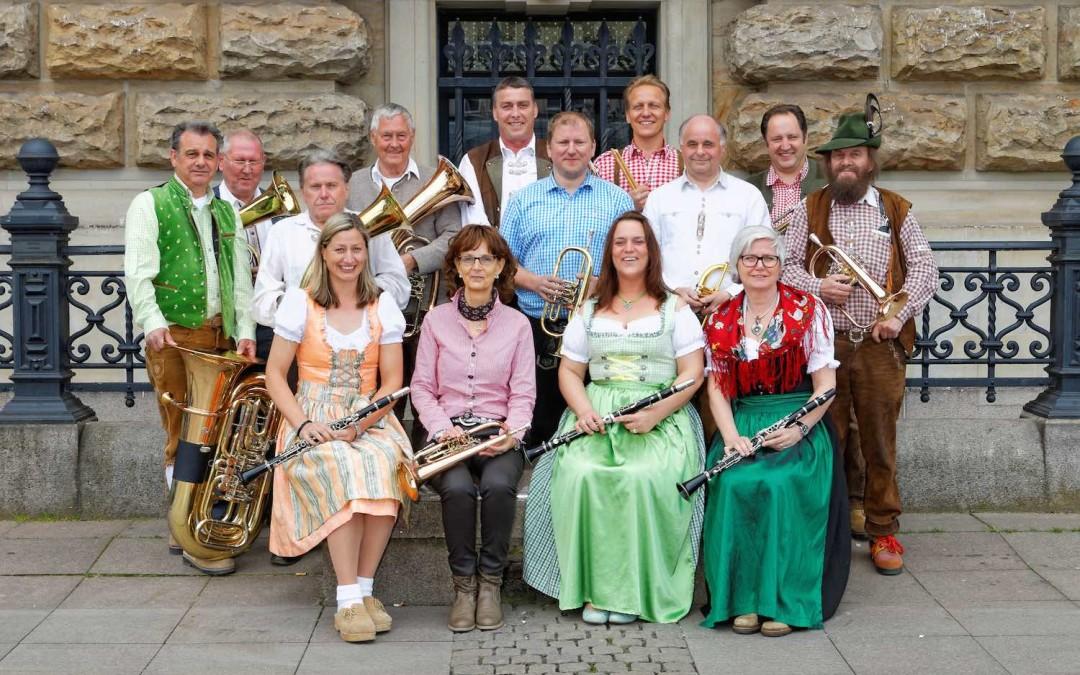 Schützenkapelle spielt beim 59. Deutschen Schützentag in Hamburg